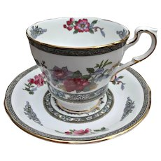 Paragon Tree of Kashmir Cup Saucer Vintage Fine Bone China England