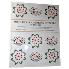 More Early American Stencils In Color Book Full Size Patterns 1986