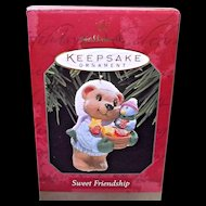Hallmark Keepsake Ornament Sweet Friendship Bear and Bird
