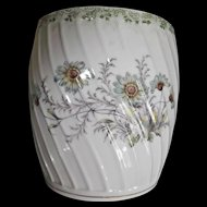 Old German Porcelain Biscuit Jar Rosenthal and Co. Flowers Bottom Only No Lid