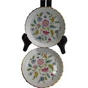 Minton Bone China Haddon Hall Coasters Floral Two