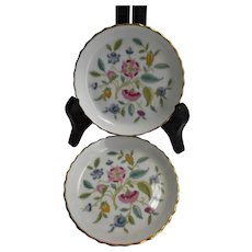 Minton Bone China Haddon Hall Coasters Floral Two