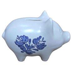 Pfaltzgraff Yorktowne Pig Piggy Bank Vintage Stoneware