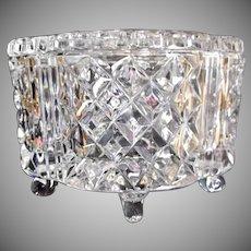 Crystal Cut Glass Jewel Box Casket