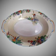 Grindley The Old Mill Oval Serving Bowl Tunstall England