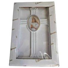 Girl's First Communion Porcelain Cross by Roman Inc.