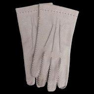 Vintage Aris Pigskin Gloves Tan made in Hungary Never Worn
