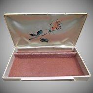 Vintage Art-Deco Retro Style Pink Celluloid Jewel Box