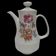 Colditz Tea Pot German Democratic Republic 1980s Floral MCM