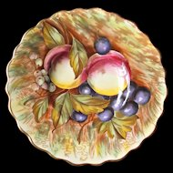 Vintage Aynsley Signed D. Jones Fruit Saucer Underplate English Bone China