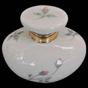 Lenox China Vintage Rose Manor Perfume Cologne Bottle 1985 to 1999