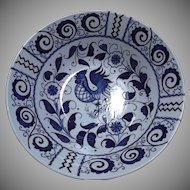 Johnson Brothers Vintage Chanticleer Blue White Rooster Bowls