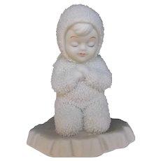 Snowbaby Angel Vintage Department 56