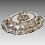 English Lidded Entree Serving Dish marked Smith, Sissons & Co. - 19th /20th Century, England