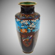 Japanese Cloisonne Vase Meiji Period - late 19th/early 20th Century, Japan