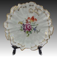 Ambrosius Lamm Decor Dresden Porcelain Bowl / Carl Tielsch Modeller - 20th Century, Germany