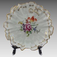 Ambrosius Lamm Decor Dresden Porcelain Bowl / Carl Tielsch Modeller - 20th Century, Germany