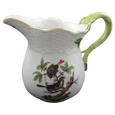 Herend Creamer Rothschild Pattern - 20th Century, Hungary