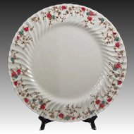 "15"" Round Platter Minton China Ancestral Pattern - 20th Century, England"