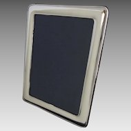 Classic 8x10 Sterling Picture Frame Marked 925 - 20th Century