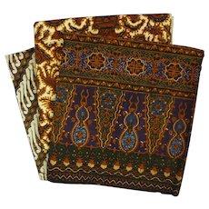 Lot Indonesian Batik Kain Panjang Wax Dyed Cotton Textiles - 20th Century, Indonesia