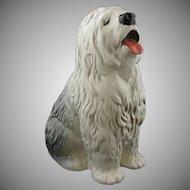 Large Old English Sheep Dog Figure by Beswick Pottery England