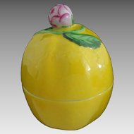 Herend Porcelain Lemon Shaped Lidded Trinket Box 6071 C - Hungary