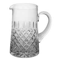 Atlantis Crystal Pitcher Handled Large - 20th Century, Portugal