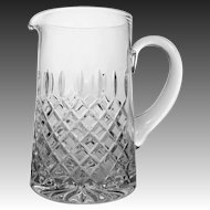 Cut Crystal Pitcher Marked Atlantis - 20th Century, Portugal