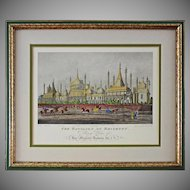 The Pavillion at Brighton after Sutherland Framed Print  - 20th Century, England