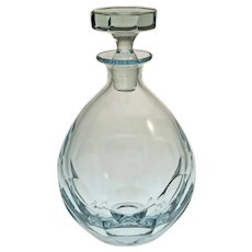 Strombergshyttan Decanter 558 Modern Swedish Crystal MCM - c. 1950's, Sweden