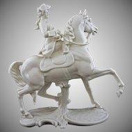 Nymphenburg Female Equestrian Princess Margarethe Klementine von Thurn und Taxis Figurine 531 - Post 1910, Germany