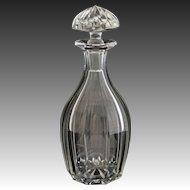 American H.P. Sinclaire & Co. Fully Marked Cut Crystal Decanter and Stopper  - circa 1904–28, Corning, NY