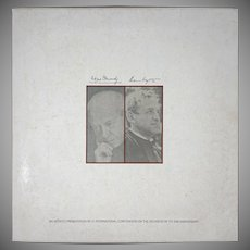 Andrew Wyeth and Eugene Ormandy Limited Edition Print and Long Play Record Americana - 20th Century, USA