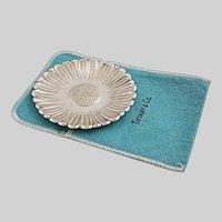 Tiffany & Co. Sterling Silver Daisy Dish - 20th Century, USA