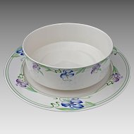 Villeroy & Boch Verona Pattern Large Serving Bowl and Platter - 20th Century, Luxembourg