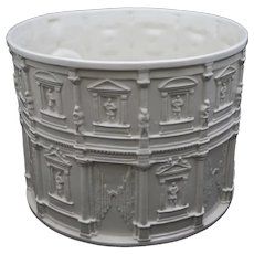 Huge Tiffany & Co. Ceramic / Faience Planter / Jardiniere / Wine Cooler / Centerpiece- 20th Century, Italy