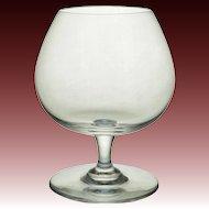 Baccarat Medium Brandy Cognac Glass Crystal - 20th Century, France