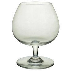 Baccarat Medium Brandy Cognac Glass Crystal - 20th Century, France