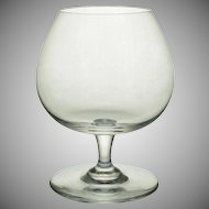 Baccarat Small Brandy Cognac Glass Crystal - 20th Century, France