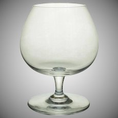 Baccarat Small Brandy Cognac Glass Crystal - 20th Century, France