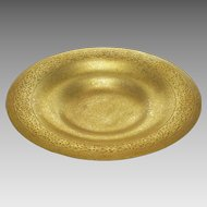 "9"" Tiffany Studios New York Bronze Plate Bowl Shape 1707 - After 1902, USA"