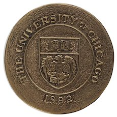 University of Chicago Door Knob Coat of Arms