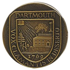 Dartmouth College Bronze Door Knob Vox Clamantis in Deserto