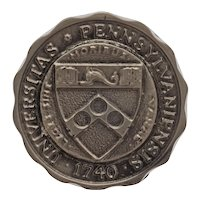University of Pennsylvania Coat of Arms Drawer Pull Knob