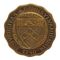 University of Pennsylvania Door Knob Coat of Arms