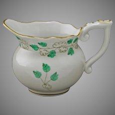 Herend Sabina Vert Pattern SABV Mini Cream Pitcher Porcelain - 20th Century, Hungary