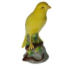 Spode Copeland Yellow Canary Bird Figurine China Porcelain - 20th Century, England