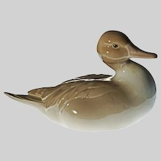 "6 3/4"" Lladro Duck Duckling Porcelain Figurine - 20th Century, Spain"
