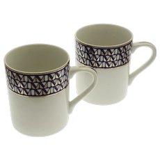 Pair Tiffany & Co. Porcelain Millenium Mugs - 20th Century, Japan